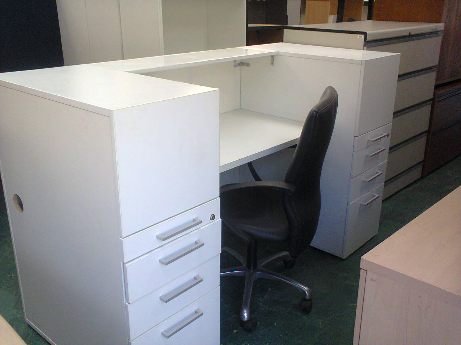 Reception Counters - White