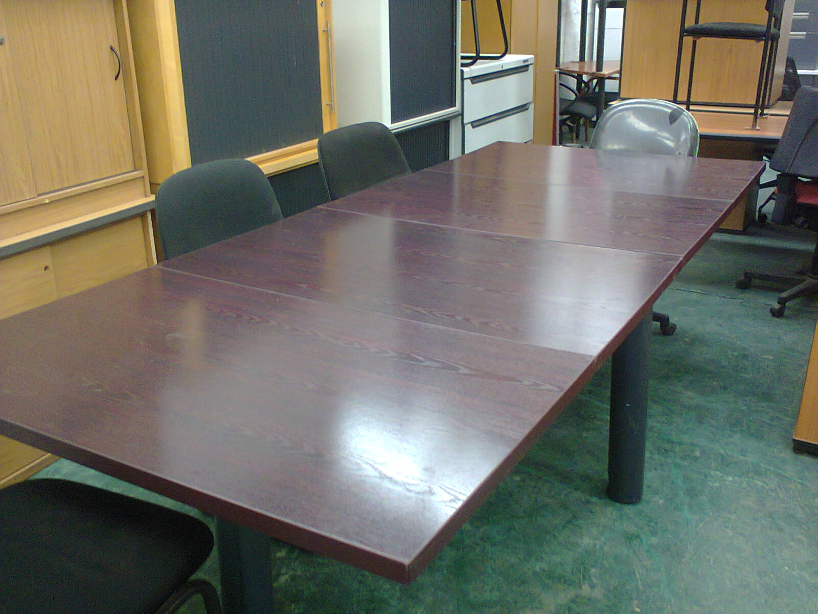Boardroom Table - Mahogany Modular