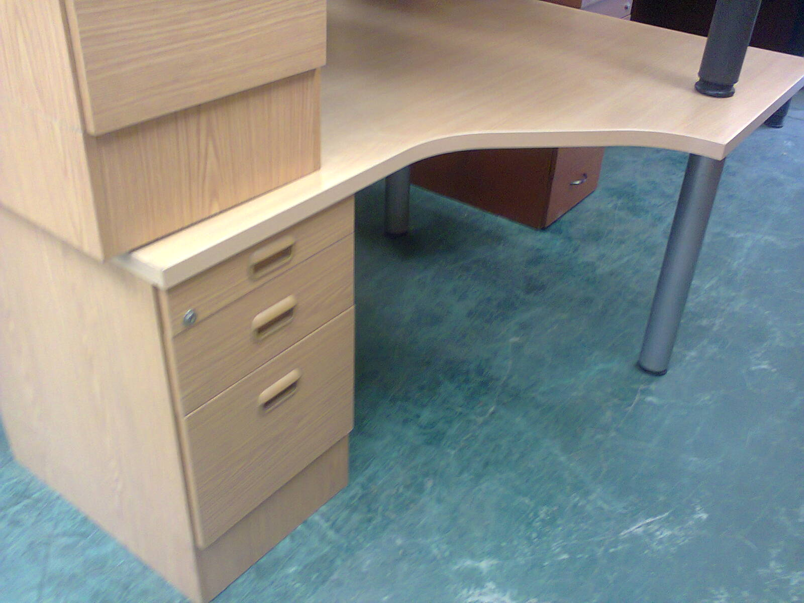 Desks  - Maple L shape