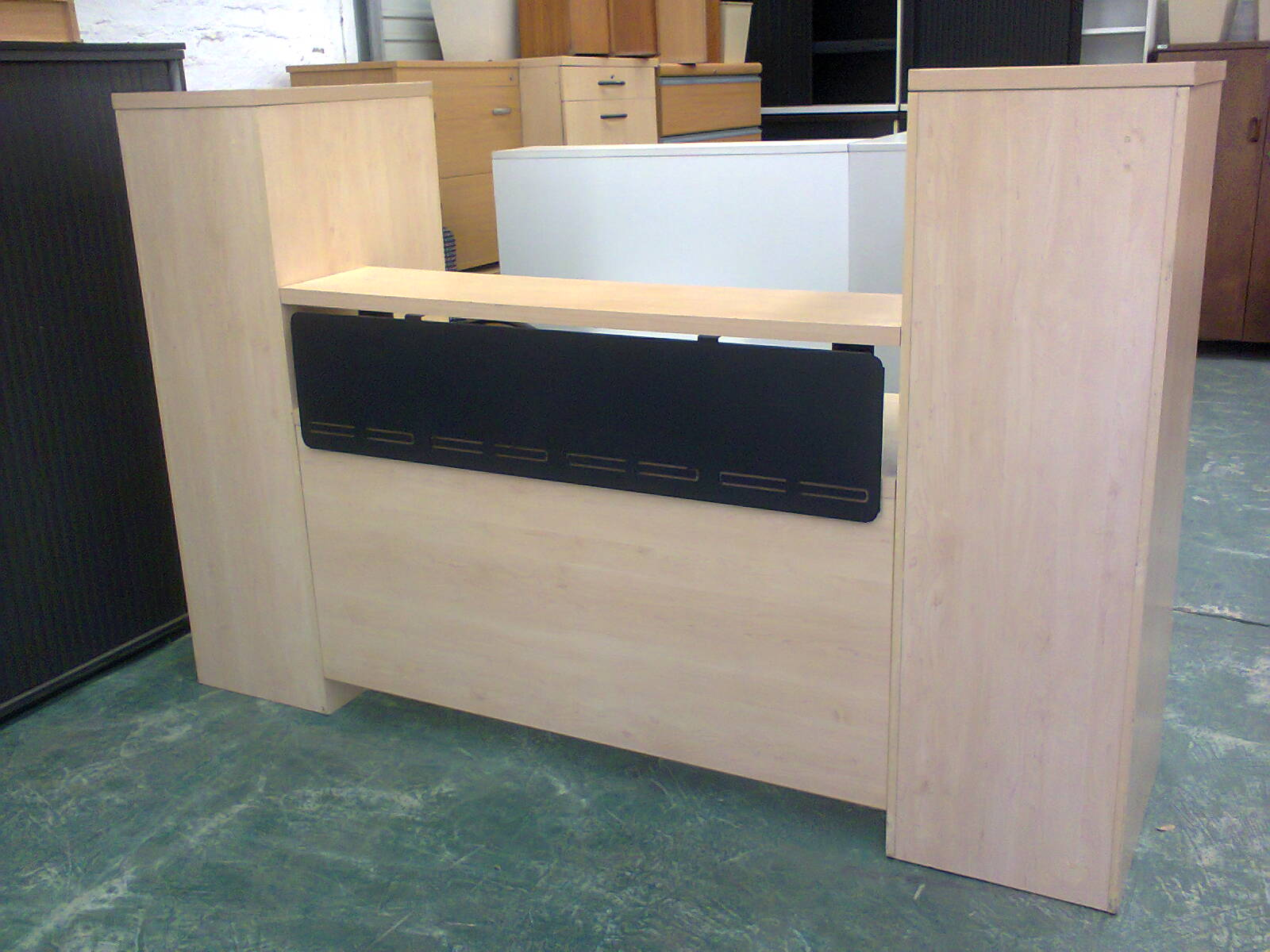 Reception Counter - Maple tower