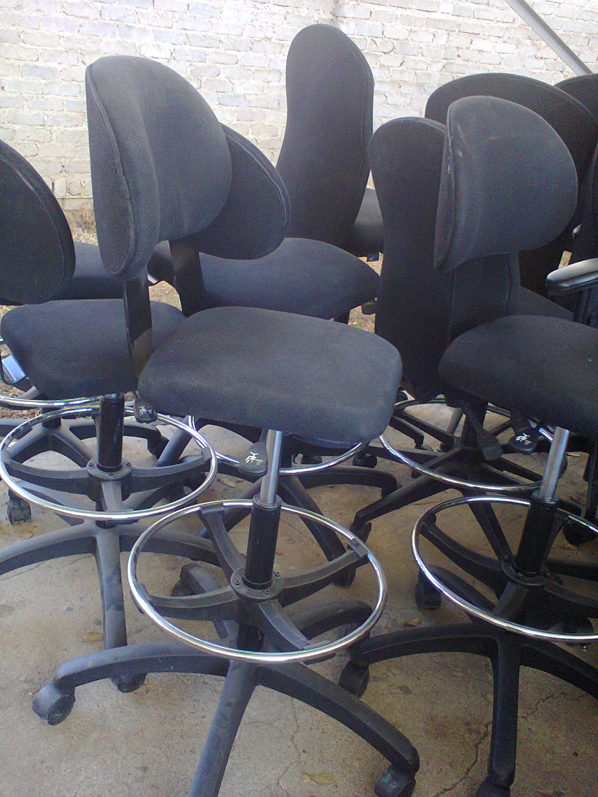 Chairs - Draughtsman stools + chairs