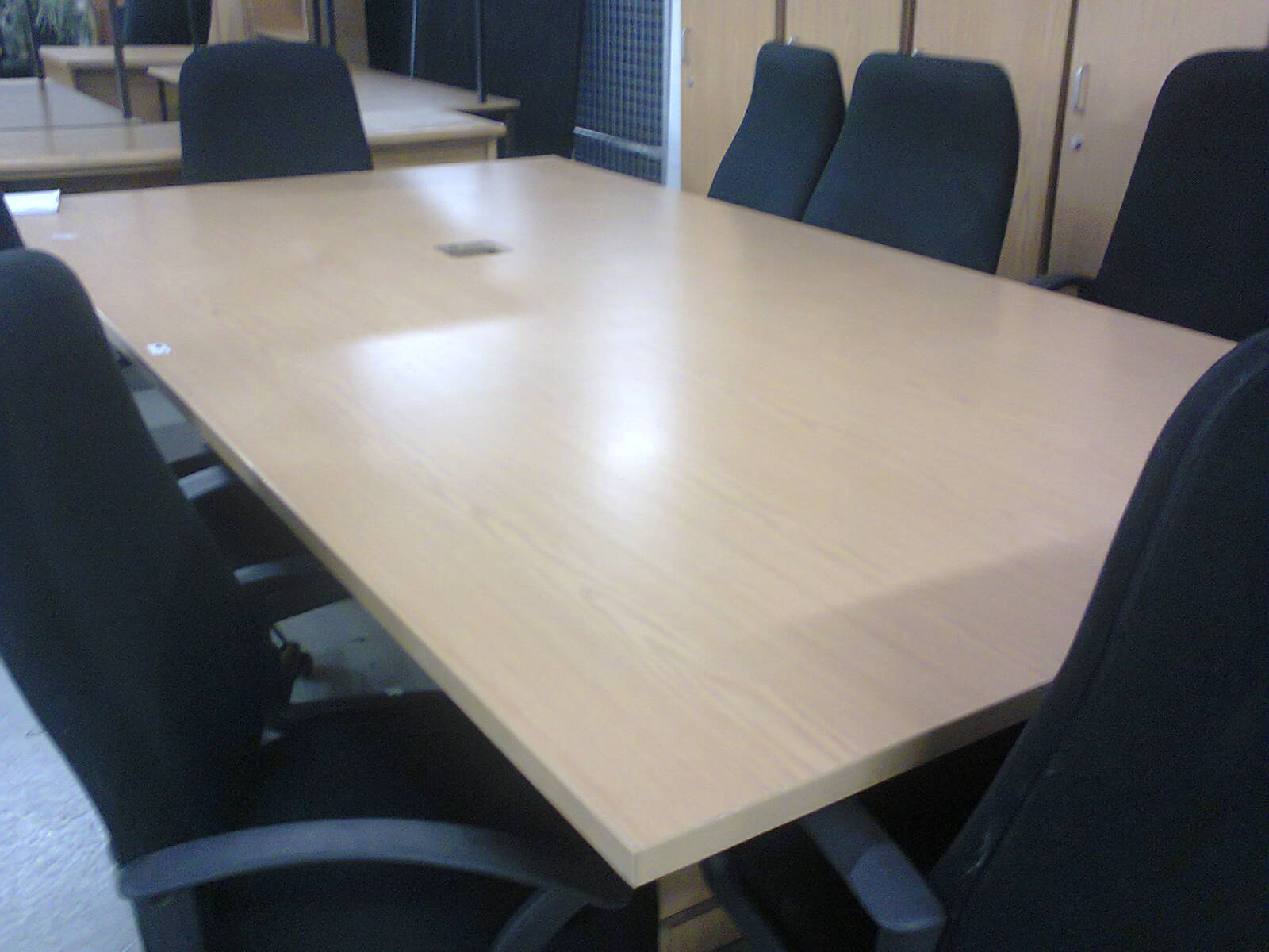 BOARDROOM TABLE - Beech