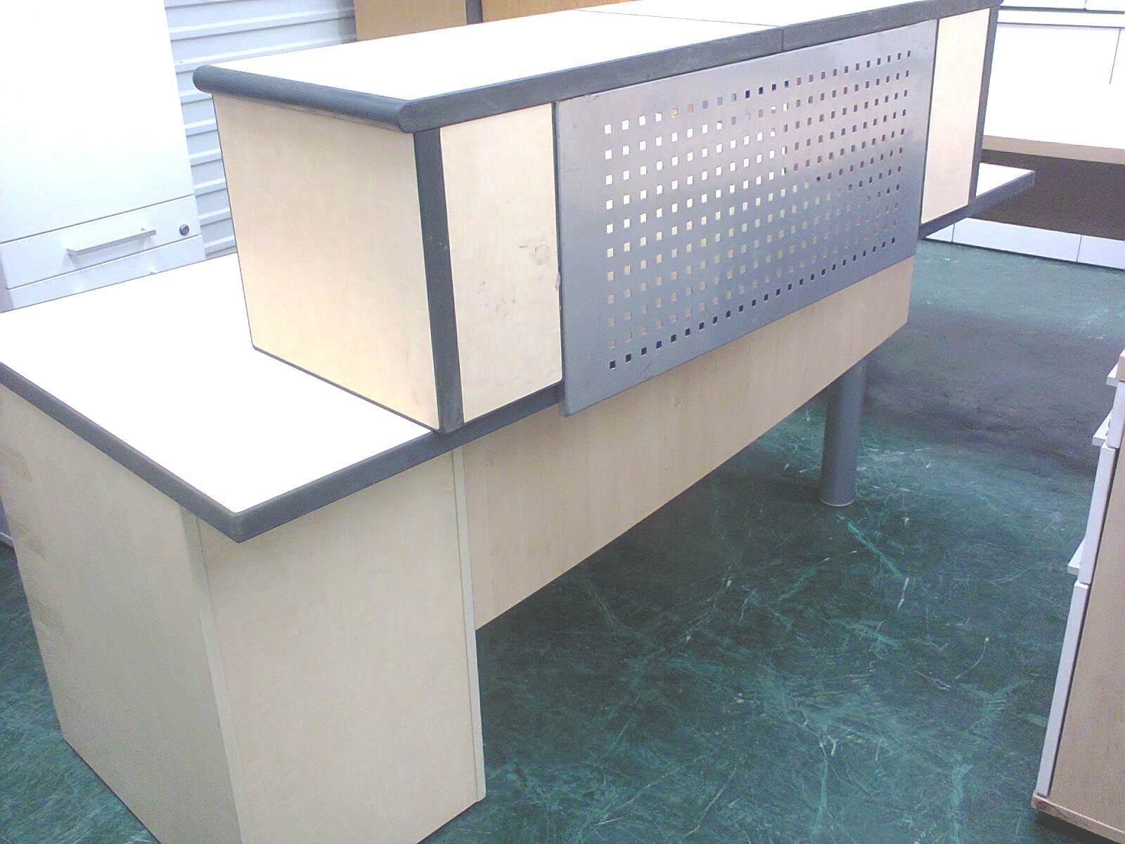 Reception Desk - Maple
