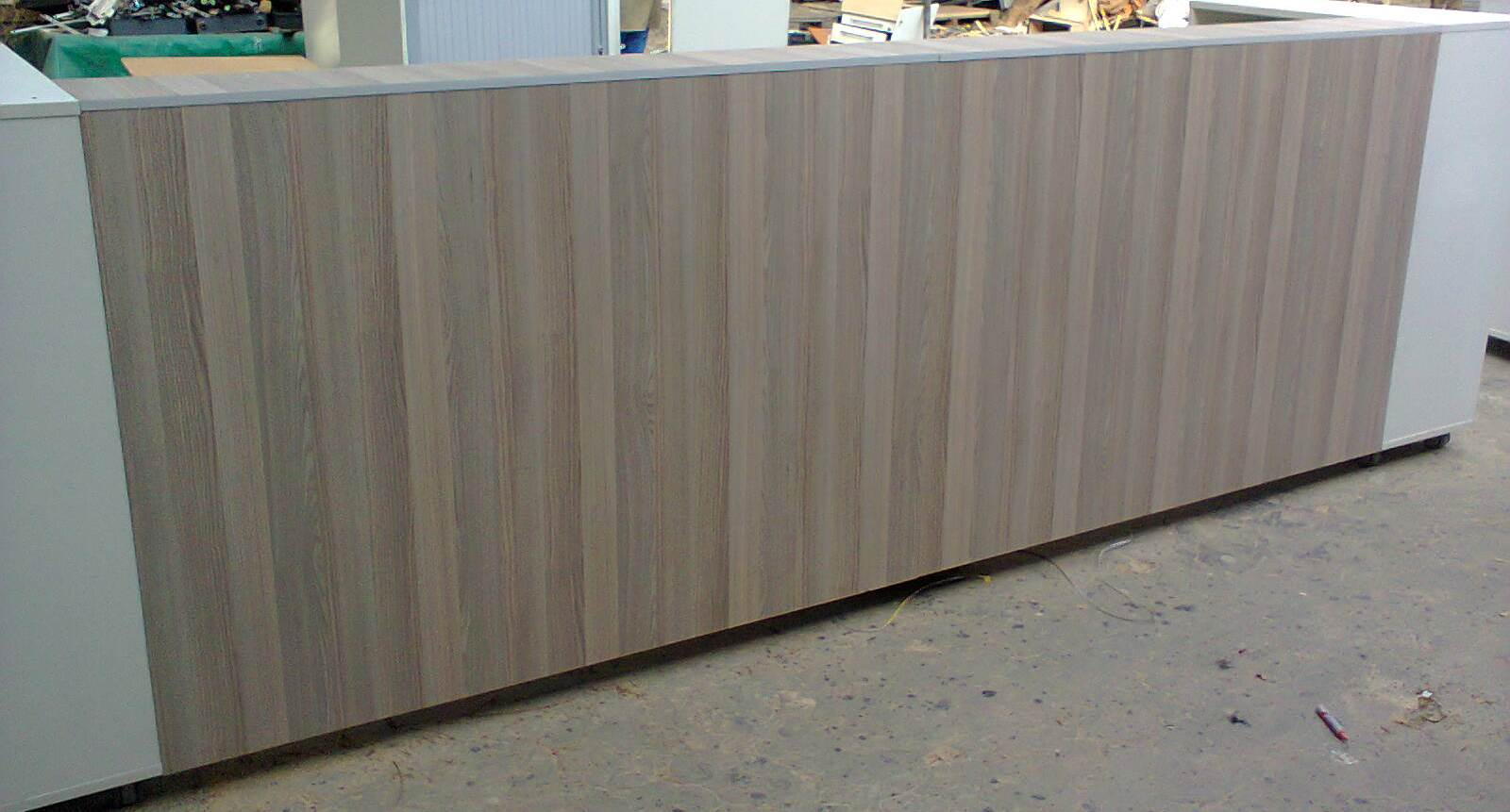 Reception Counters - 400 cm. different finishes